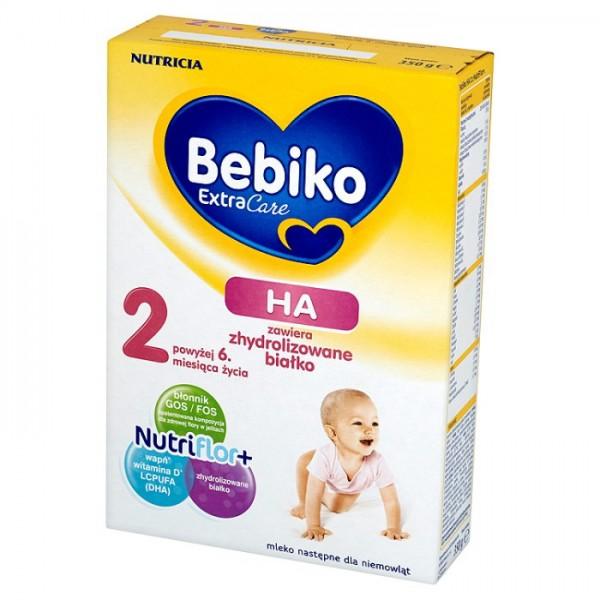 Bebiko Extra Care HA 2 350g po 6 miesiącu życia dla dzieci z alergiami