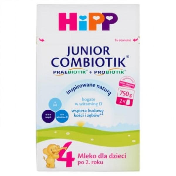 HiPP 4 Junior Combiotik mleko modyfikowane dla dzieci po 2 roku