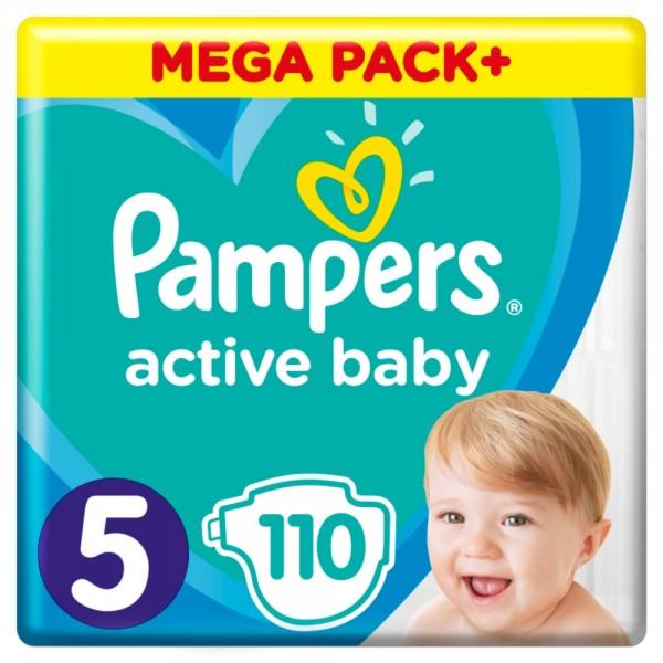 Pampers Active Baby 5 (11-16kg) MEGAPACK 110 sztuk