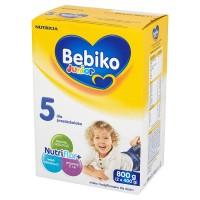 BEBIKO Junior 5 800g mleko modyfikowane dla dzieci powyżej 3 roku życia z NutriFlor+