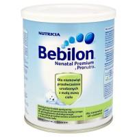Bebilon Nenatal Premium z Pronutra mleko dla wcześniaków 400g