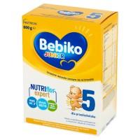 BEBIKO Junior 5 800g NutriFlor Expert mleko modyfikowane dla dzieci powyżej 3 roku życia