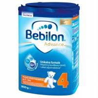 Bebilon 4 800g Junior mleko modyfikowane po 2 roku