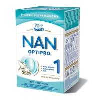 NAN Optipro 1 mleko modyfikowane od urodzenia 800g (2x400g) W KARTONIE