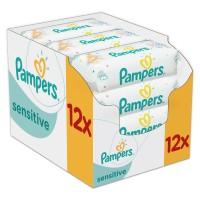 PAMPERS Sensitive chusteczki 12x56 sztuk