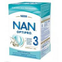 NAN Optipro 3 mleko modyfikowane po 1 roku 800g (2x400g) Karton