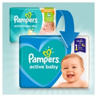 Pampers Active Baby 6 (13-18kg) - 68 sztuk