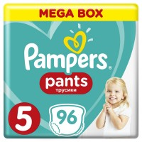 PAMPERS Pants 5 JUNIOR 96 szt 11-18kg MEGA BOX