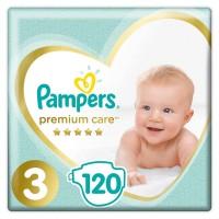 Pampers Premium Care rozmiar 3 midi 5-9kg 120 pieluszek