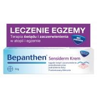 Bepanthen SENSIDERM krem 50g na AZS i leczenie egzemy