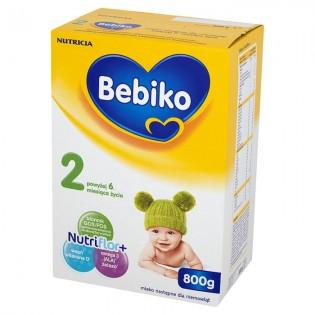 Bebiko 2 z NutriFlor+ mleko modyfikowane 800 g