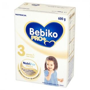 Bebiko Pro+ 3 Mleko modyfikowane dla dzieci powyżej 1 roku życia 600g