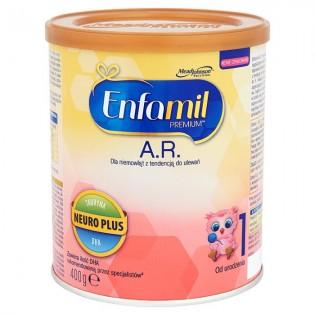Enfamil AR 1 mleko modyfikowane przeciw ulewaniu 400g