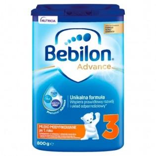 Bebilon 3 800g Advance mleko po 1 roku