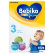 BEBIKO Junior 3 z NutriFlor+ mleko modyfikowane dla dzieci powyżej 1 roku życia 800g